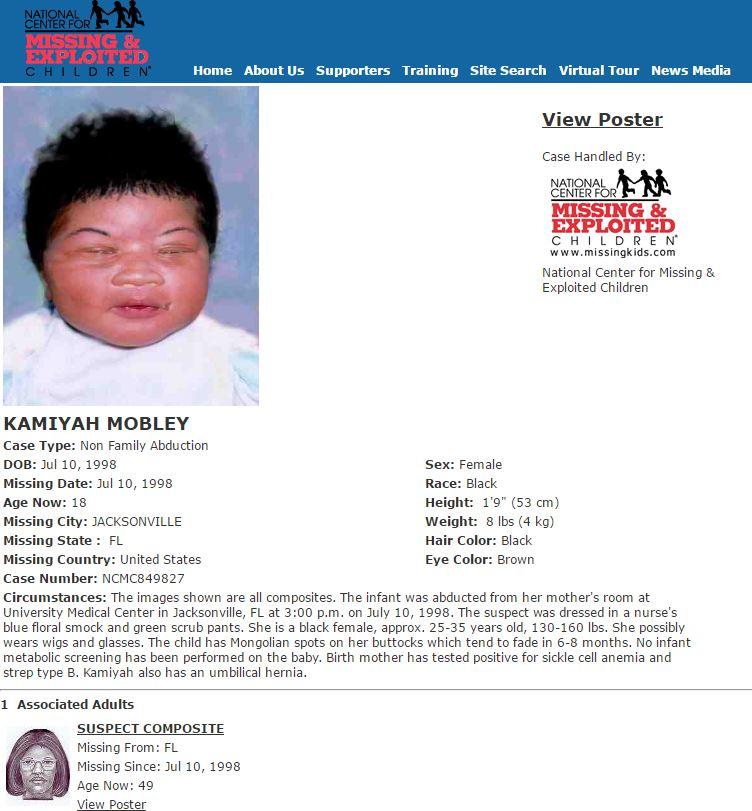 FOUND! Newborn kidnapped in 1998 found safe