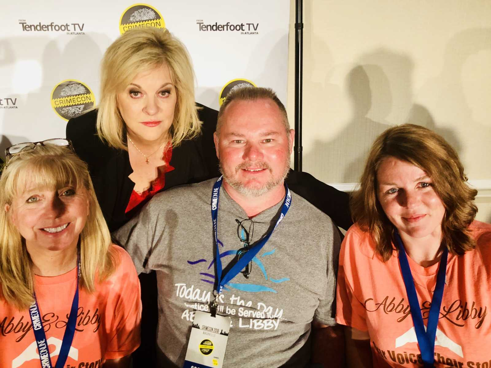 Nancy Grace with Delphi family